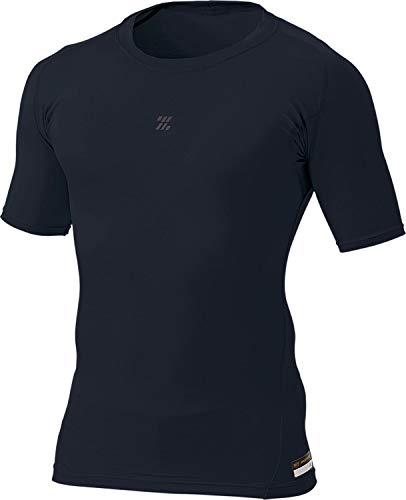 ゼット(ZETT) 野球 プロステイタス フィジカルコントロールウエア クルーネック 半袖 アンダーシャツ ブラック L BPRO100C