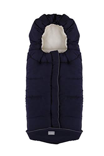 Nuvita 9545 | Junior City | Winter Buggy Universal Fusssack | Passend für die meisten Kinderwagen | 100 x 45 cm | Thermo, Wasserdicht, Winddicht, hält Babys warm bis -10° | 6-36 Monate | Groß