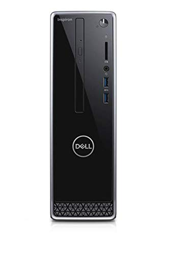 Latest_Dell Inspiron 3471 Small Desktop, 9th Gen Intel Core i3-9100 Processor, 8GB DDR4 RAM, 1TB Hard Drive, HDMI,Window 10 Pro