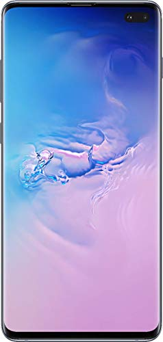 Samsung Galaxy S10+, 128GB, Prism Blue - For AT&T (Renewed)