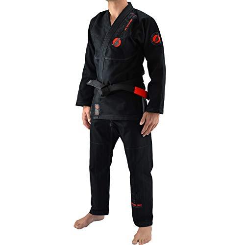 Bõa BJJ Gi HB1 One, Kimonos Brazilian Jiu Jitsu para Hombre, negro, A3