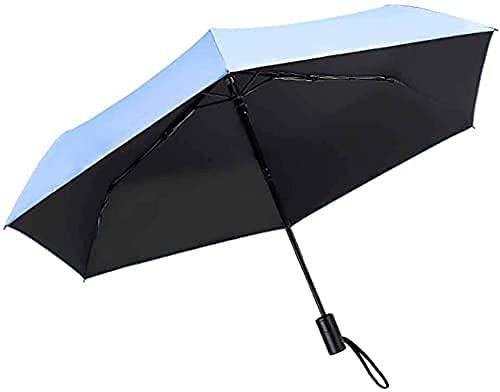 Paraply ? Bärbart paraply, Auto öppet solparaply UV-skydd Lätt vindtätt vattentätt paraply Com (paraply)