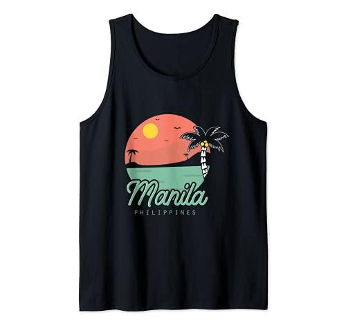 Manila Filipino Pinoy Summer Philippines Tank Top