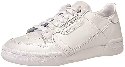adidas Damen Continental 80 Recon W Gymnastikschuh, Footwear White Footwear White Silver Metallic, 36 2/3 EU