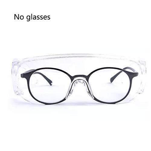 Vaccinsluitbril Plastic Stofdichte en ademende veiligheidsbril Transparant kind