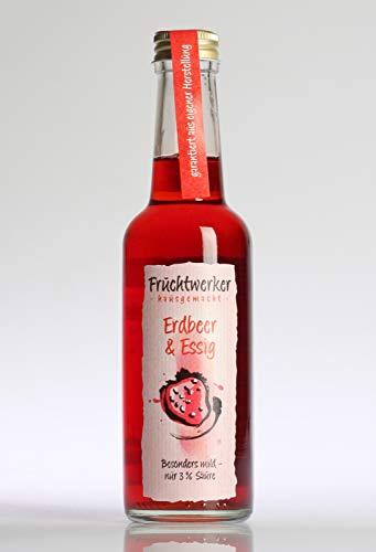 Fruchtwerker 'Erdbeere & Essig' 250ml