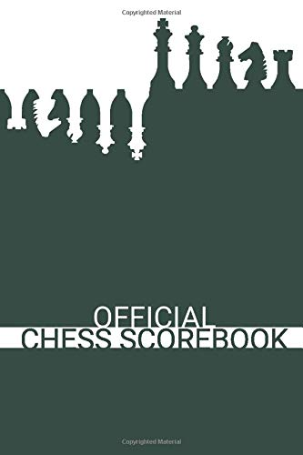 Official Chess Scorebook (Nature Green): Beautifully Designed 90 Moves Chess Notation Book...