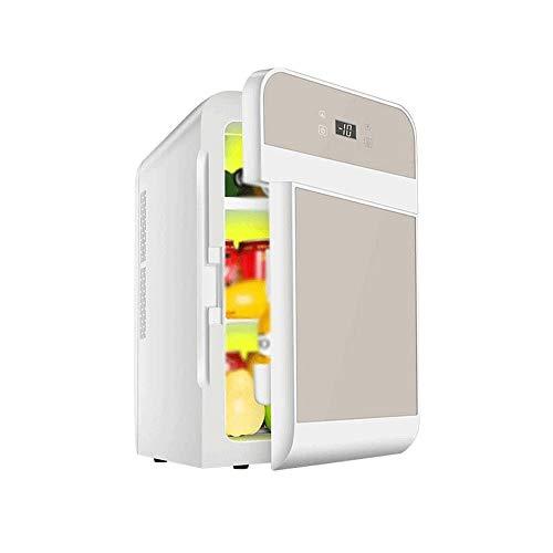 Adesign Assorbimento Mini Frigo congelatore 20 Litri |AC |DC |12v |220v |per Il Campeggio, Viaggi, Picnic |Auto, Camper, Camper, Caravan (Color : Tyrant Gold)