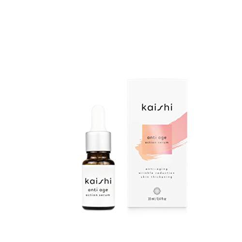 Kaishi - Sérum antienvejecimiento con florentina y ácido ferúlico para pieles maduras o problemáticas, 10 ml