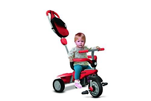 smarTrike Le Tricycle Smart Trike Breeze GL véhicule, Rouge/Gris