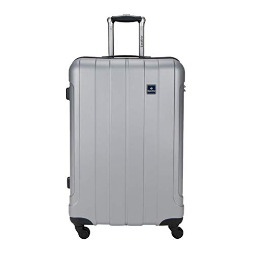 Reisekoffer Hartschale Koffer Trolley Saxoline Gr.M 65cm Silber