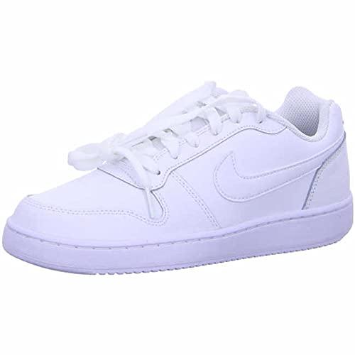 Nike Women's Ebernon Low Sneaker, White/White, 7 Regular US