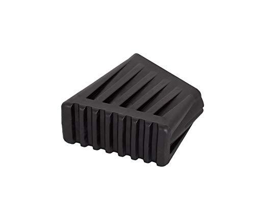 1 Paar Fußkappen 40x20mm / \ schwarz Monto Krause 212528