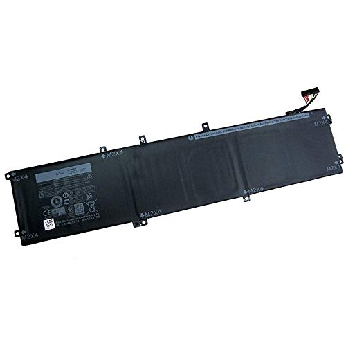 SUNNEAR 4GVGH (11.4V 84Wh) Laptop Battery for DELL XPS 15 9550 1P6KD 01P6KD 4GVGH