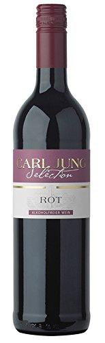 6x CARL JUNG SELECTION ROT ALKOHOLFREI ROTWEIN 0,75L DEUTSCHLAND Incl. Goodie von Flensburger Handel