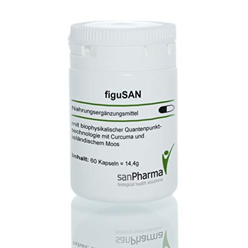 figuSAN   Wunschgewicht/Magen-Darm-Gesundheit   Quantenpunkttechnologie   Nahrungsergänzungsmittel   60 Kapseln