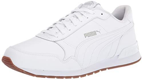 PUMA ST Runner, Zapatillas Deportivas. Unisex Adulto, Blanco, Gris y Violeta, 40 EU