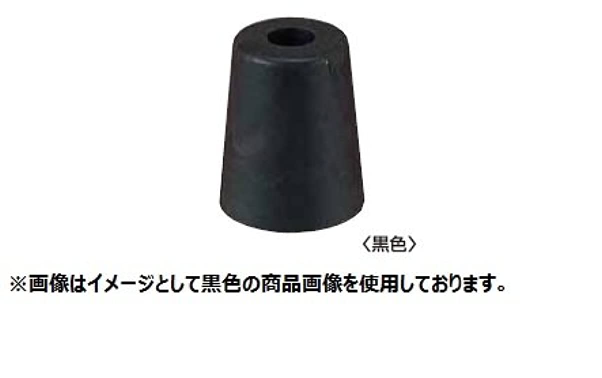 矩形臭い彼女丸喜金属 M-600 50U 黒 ゴムセーフ戸当たり サイズ:50 1個