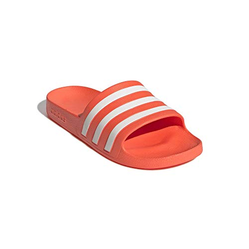 adidas Aqua Women Adiletten - Chanclas para mujer, color Rojo, talla 43 EU