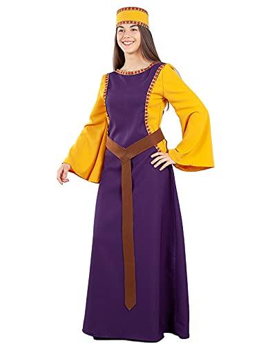 DISBACANAL Disfraz Dama Medieval Jimena Mujer - L