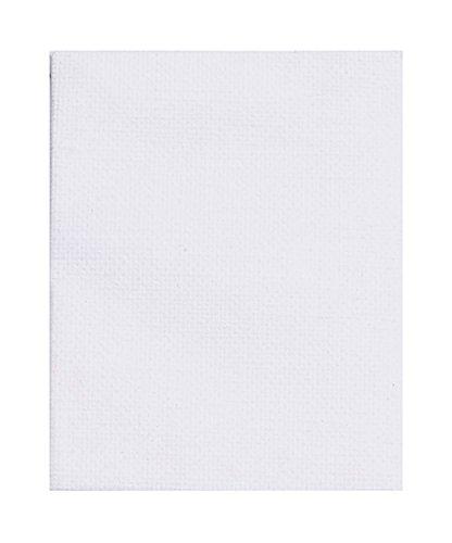 Marabu 1615000000005 - Mini Keilrahmen, ca. 10 x 10 cm, Rahmentiefe ca. 1 cm, weiß, ideal zum Bemalen und Dekorieren, als individuell gestaltetes Geschenk, zur Gestaltung von Tischkarten
