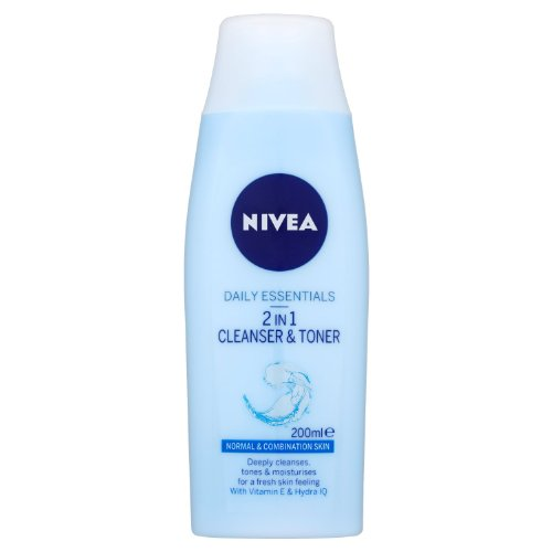 Nivea Visage 2 in 1 Cleanser & Toner 200ml