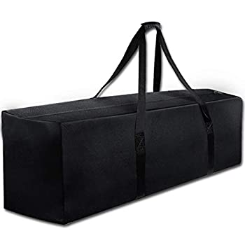 COOLBEBE 47  Sports Duffle Bag - Extra Large Travel Duffel Luggage Bag with Upgrade Zipper Durable & Water Resistant Black