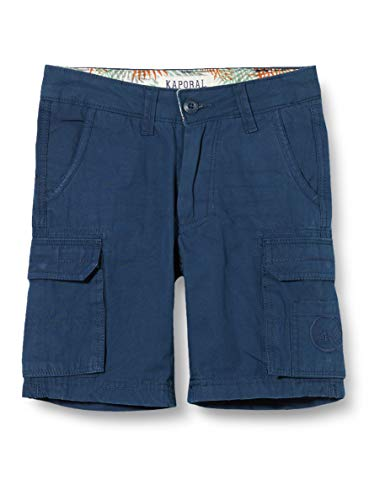 Kaporal Eden Short, Bleu (Blue Us Blue US), 14 Ans (Taille Fabricant:14A) Garçon