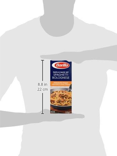 Barilla Pasta & Sauce Set Spaghetti Bolognese, 7er Pack (7 x 510 g) - 4