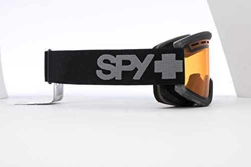 Spy Optic Getaway 313162038185 Snow Goggles, One Size (Black Frame/Persimmon Lens)