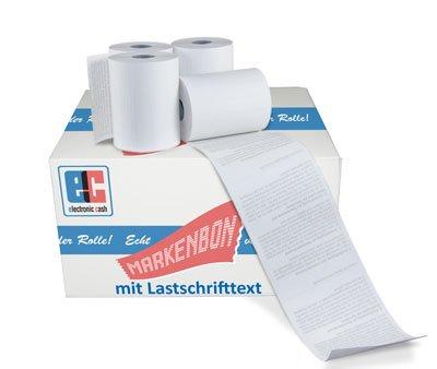 EC Cash Thermorollen (BPA-Frei) passend für Ingenico Move /5000 [18m] (50 Rollen) - markenbon