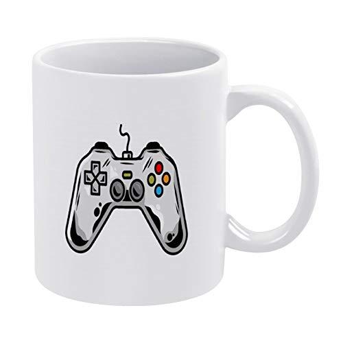 Kaffeetasse Icon Gamepad Play Arcade Video Game Gamer Custom DesignCartoon Illustration_185390 205 Weiße Tasse – Tasse Geschenk – Bestes Geschenk für Freund 325 ml Keramiktasse