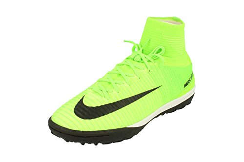 NIKE MercurialX Proximo II DF TF Mens Football Boots 831977 Soccer Cleats (UK 11 US 12 EU 46, Electric Green Black 308)