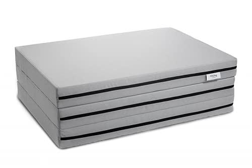 Hilding Sweden Resor Falt-/Klappmatratze (H2 – H3), für alle Schlaftypen, 90 x 190 cm, Bezug waschbar, Gästebett, Reisebett