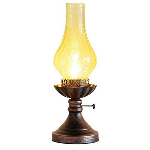 DIAOD Tischlampe, Lampe Retro-Tabelle ist die perfekte Wahl for Schlafzimmer, Wohnzimmer, Hotel, Café, Restaurant Dekoration, Arbeitszimmer, Geschenk-Shop etc.