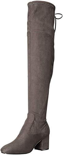 Ivanka Trump Pelinda Over-The-Knee Boots Shadow Grey 5M