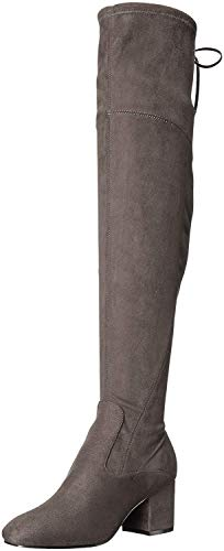 Ivanka Trump Pelinda Over-The-Knee Boots Shadow Grey 5M