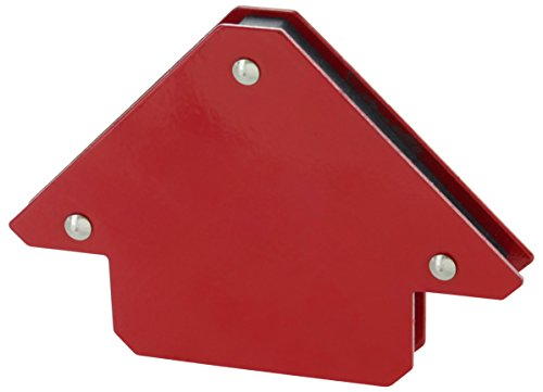 Drixet Arrow Shape Heavy Duty Steel Magnetic Welding Setup Holder for Multiple Angles Red Painted (Holds Up to 25 Lbs.)