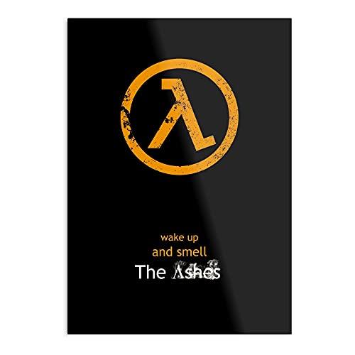 Half-Life Lambda Poster – Flat – das beeindruckendste und eleganteste Poster