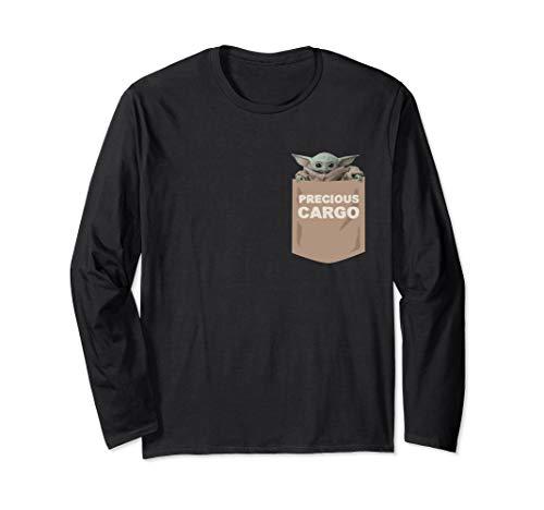 Star Wars The Mandalorian The Child Precious Cargo Pocket Long Sleeve T-Shirt