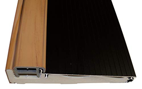 Exterior Inswing Threshold 5 5/8 inch with Composite Cap and Composite Bottom- Dark Bronze (72 inch Uncut)
