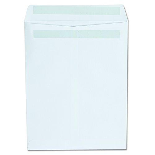 Universal 42101 Self Seal Catalog Envelope, 9 x 12, White (Box of 100)