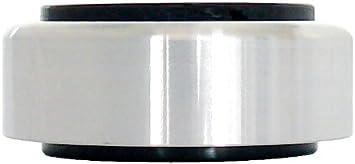 Dynavox Aluminium Füsse Für Hifi Geräte 4er Set Polierte Füße Mit Hoher Stabilität Und Gummi Dämpfern Silber Audio Hifi