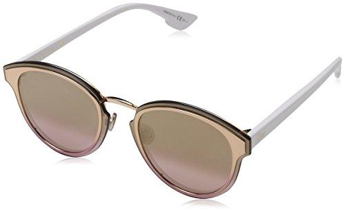 Dior Damen Diornightfall Wo 24S 63 Sonnenbrille, Gold (White/Pink)