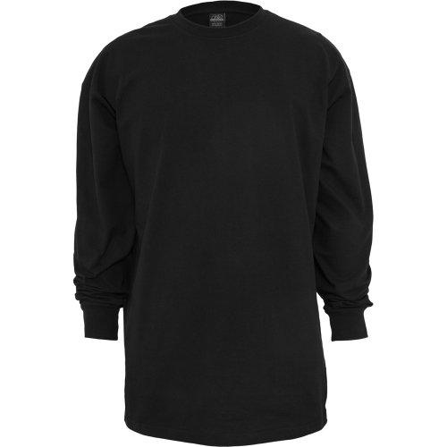 Urban Classics Herren Tall Tee L/S Langarmshirt, Schwarz, XXXXXX-Large (Herstellergröße: 6XL)