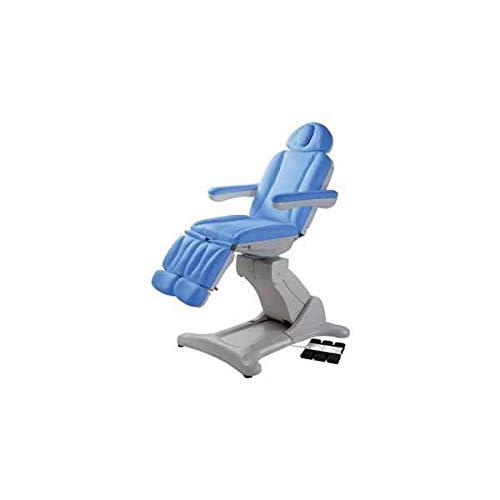 La empresa GIMA-Sillón PODOLOGIA eléctrica-3-motores azul