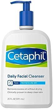 Cetaphil Daily Facial Cleanser, 20 Fl Oz