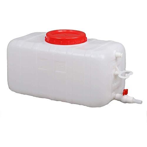 Bidón Plástico con Grifo 80L Depósito De Agua Con Grifo Contenedor De Agua Portátil Tanque De Almacenamiento Agua, Seguro, No Tóxico Y De Gran Capacidad Envase Agua Que acampa Engrosamiento De La Pc,