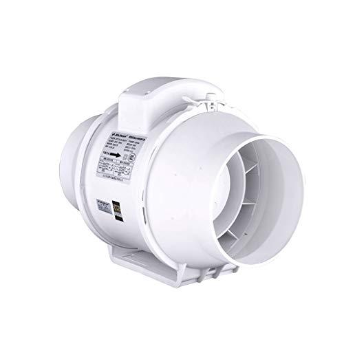 Accesorios de baño Extractor De Aire Conducto Circular Ventilador De 6 Pulgadas Baño Silencioso Extractor De Aire 500 M3 / H Extractor De Aire Ventilador Superior De Plástico