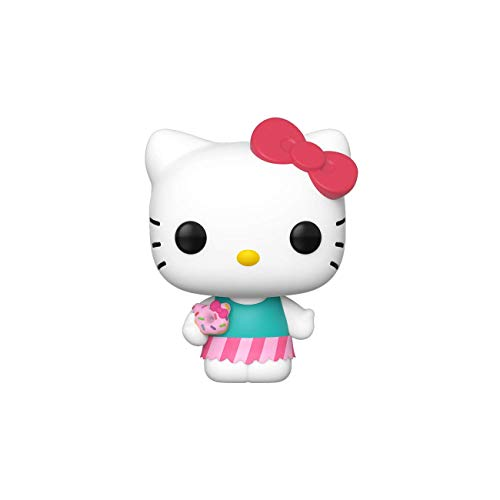Funko Pop Figura De Vinil Sanrio Hello Kitty Hk Sweet Treat Swt Trt Coleccionable Multicolor 43473